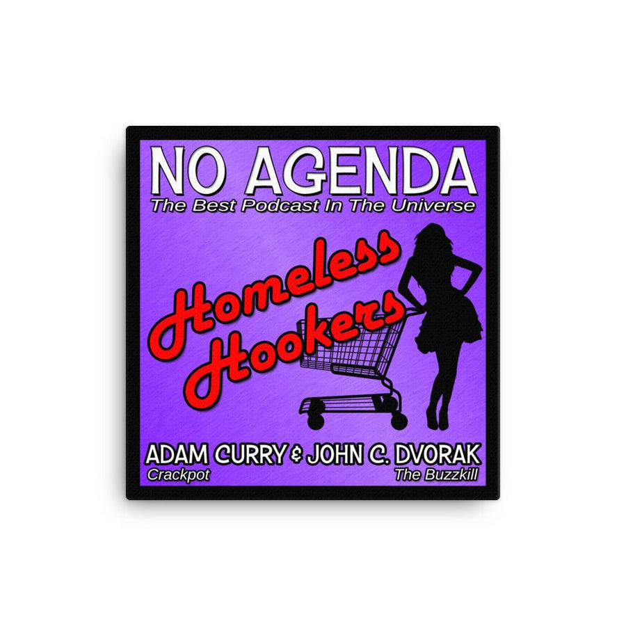 NO AGENDA 1144 - canvas cover art