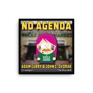NO AGENDA 1136 - canvas cover art