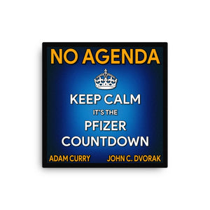 NO AGENDA 1301 - canvas cover art