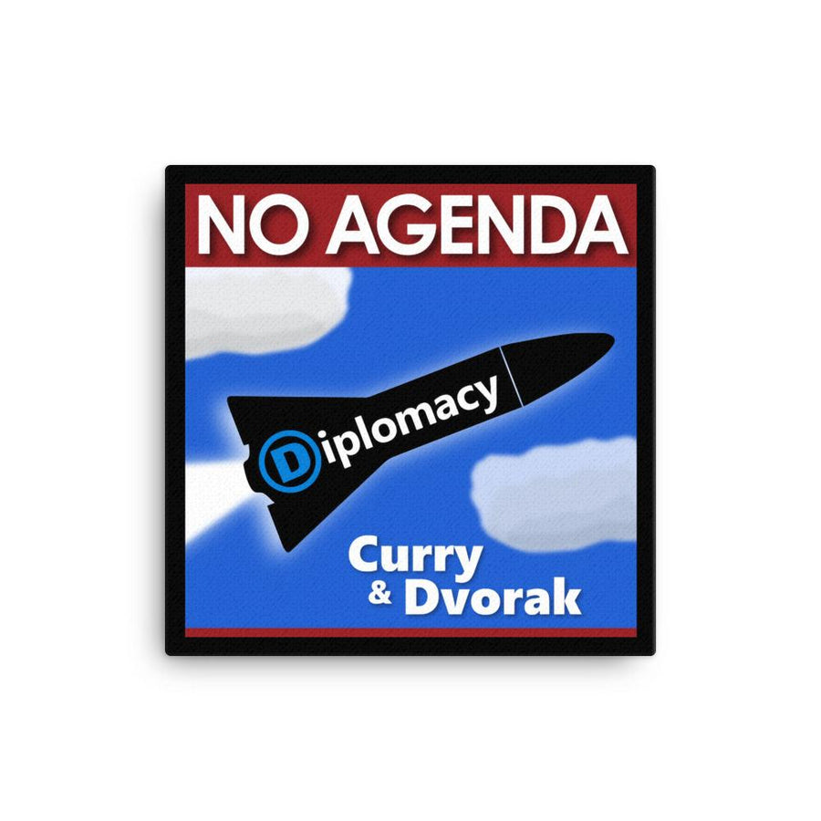 NO AGENDA 1325 - canvas cover art