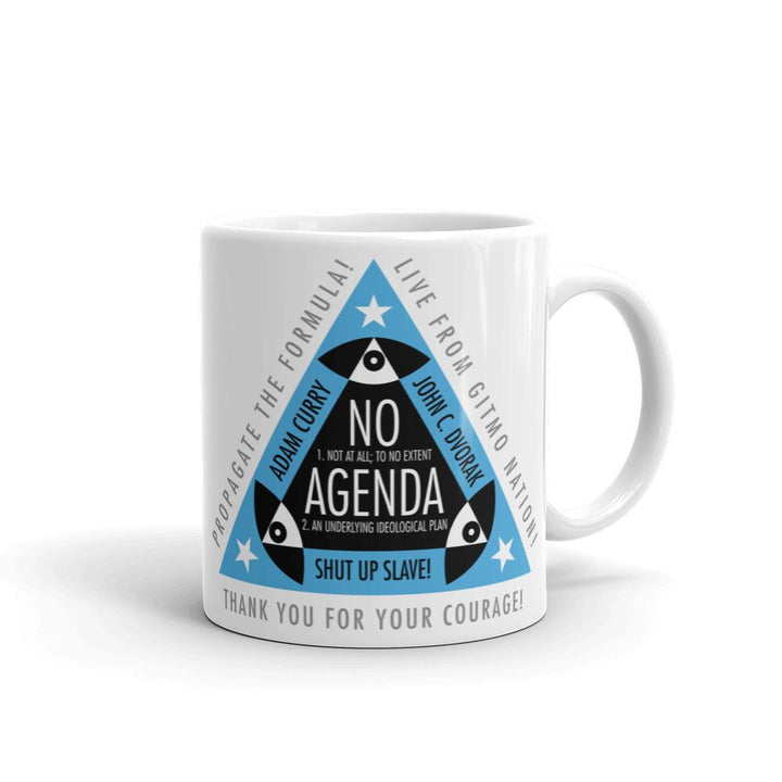 ALL SEEING NO AGENDA - mug