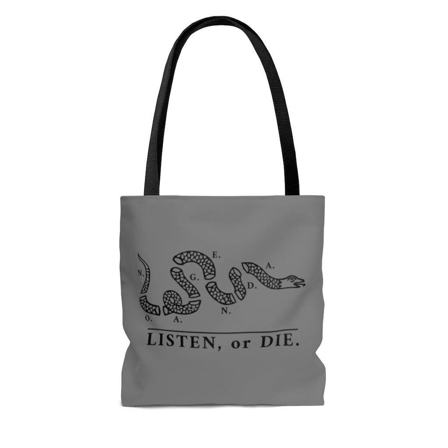 LISTEN OR DIE - GB - tote bag