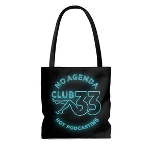 NO AGENDA CLUB 33 - B - tote bag