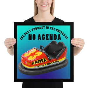 NO AGENDA 1303 - cover art poster print