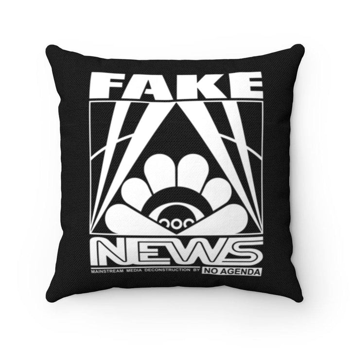 FAKE NEWS - throw pillow