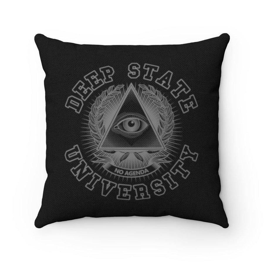 DEEP STATE UNIVERSITY - BG - throw pillow case