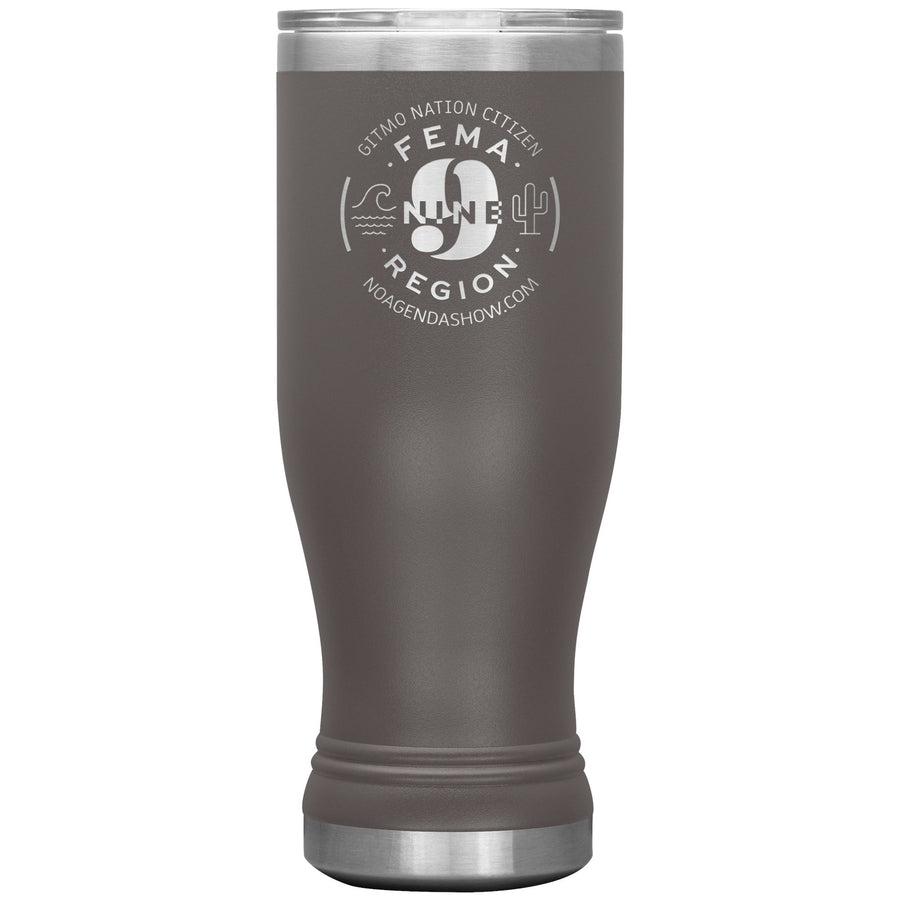 FEMA REGION NINE - 20 oz boho tumbler
