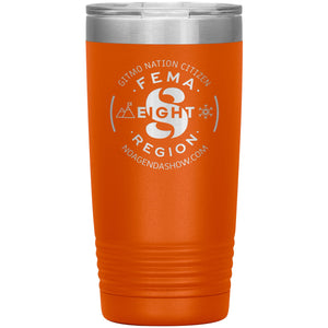 FEMA REGION EIGHT - 20 oz tumbler