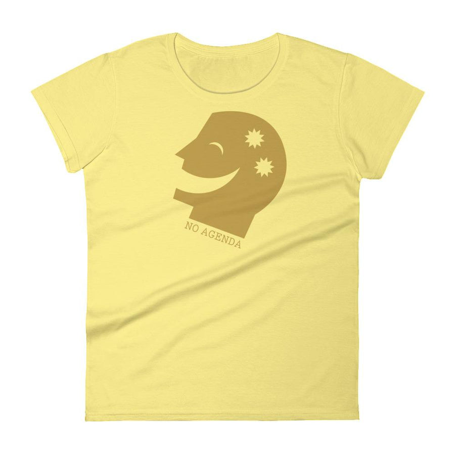 TWO TO THE HEAD - womens tee