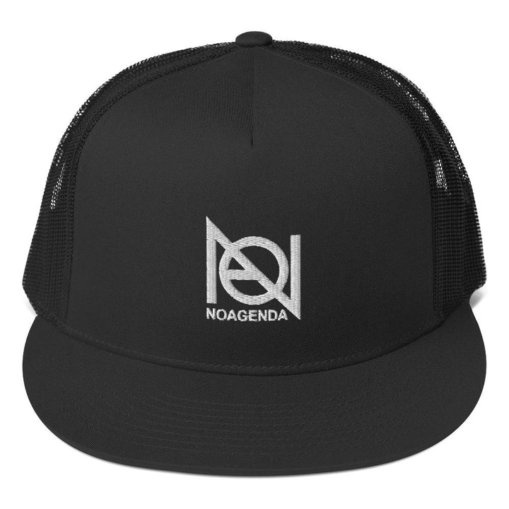 NO AGENDA - high profile trucker hat