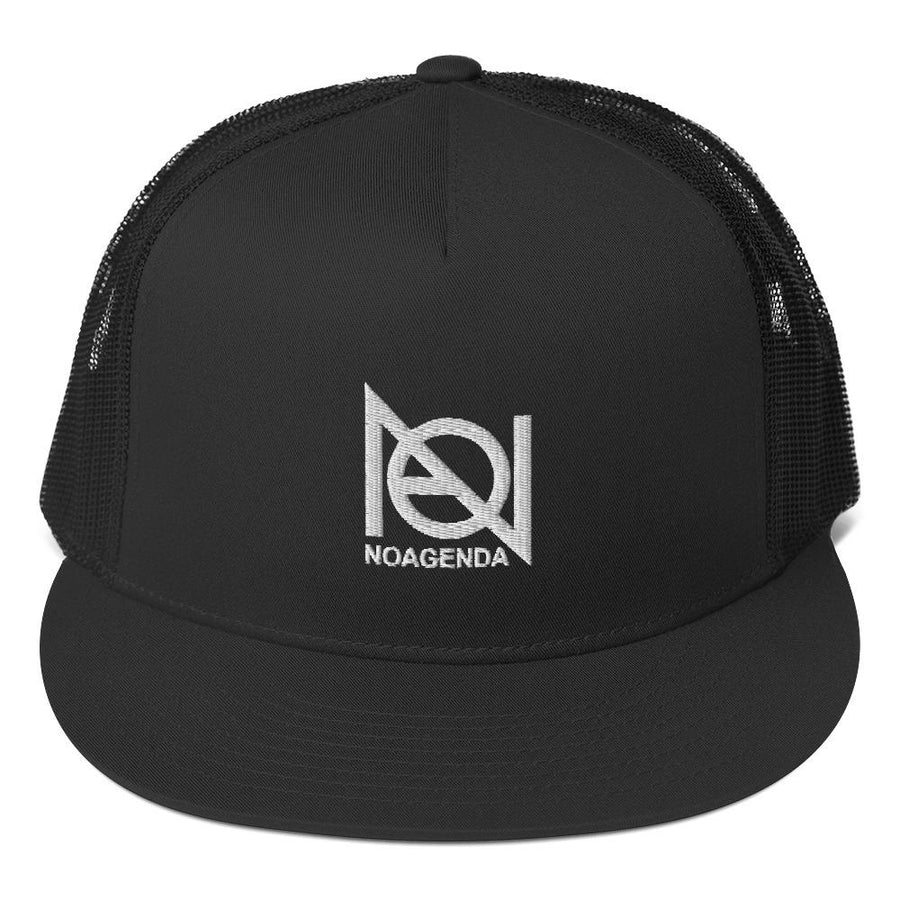 NO AGENDA - high trucker hat