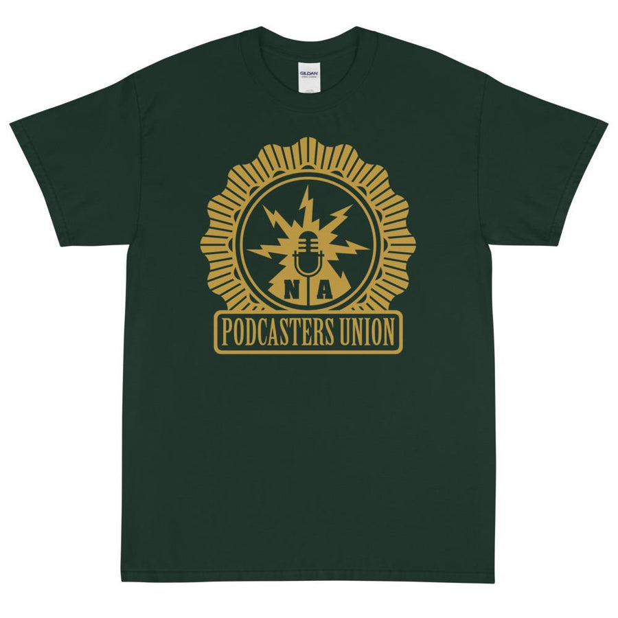 PODCASTERS UNION - rugged tee