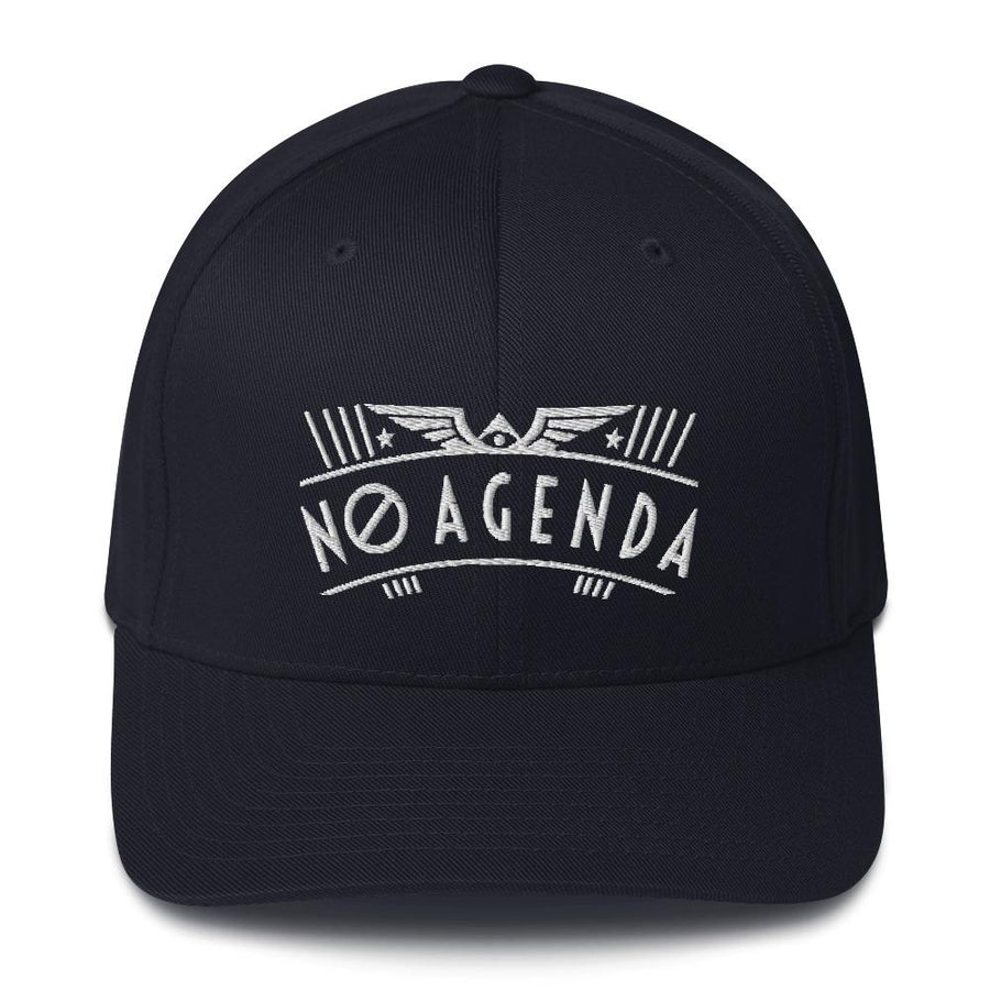 NO AGENDA RALLY - fitted hat