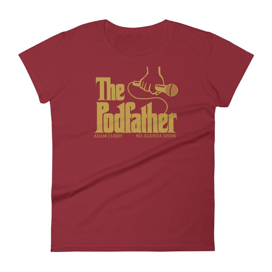 THE PODFATHER ADAM CURRY - womens tee