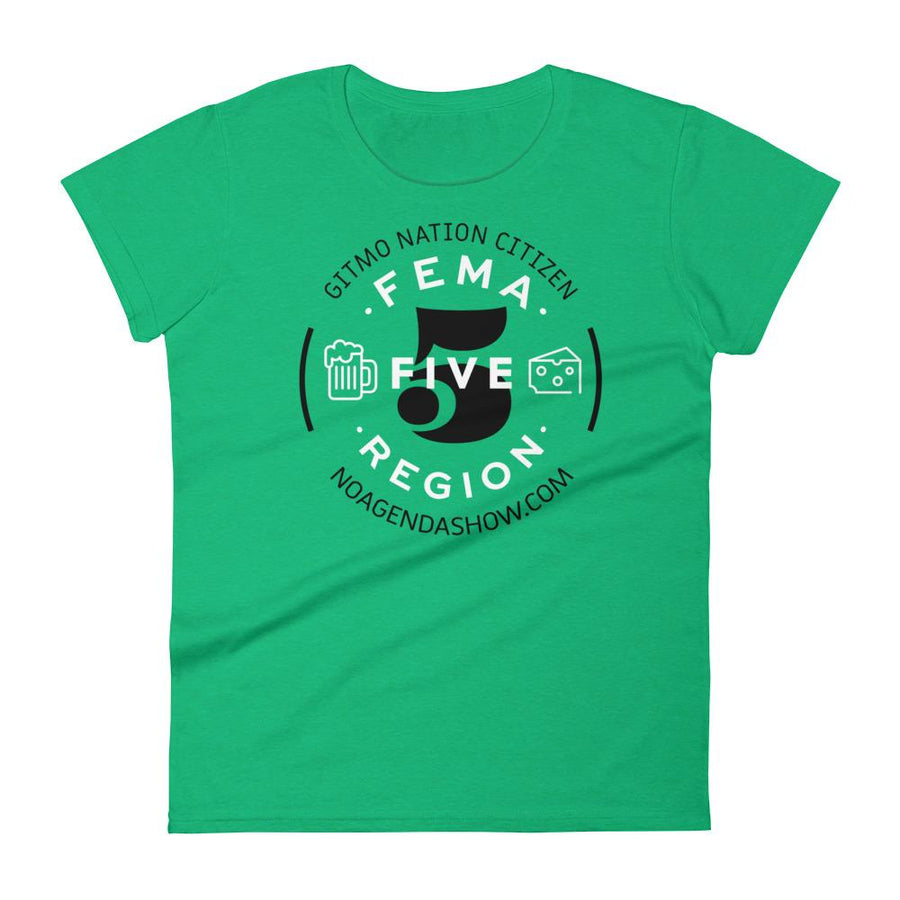FEMA REGION FIVE - womens tee