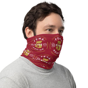 FEMA REGION FIVE - neck gaiter