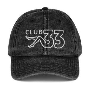 NO AGENDA CLUB 33 - vintage cap