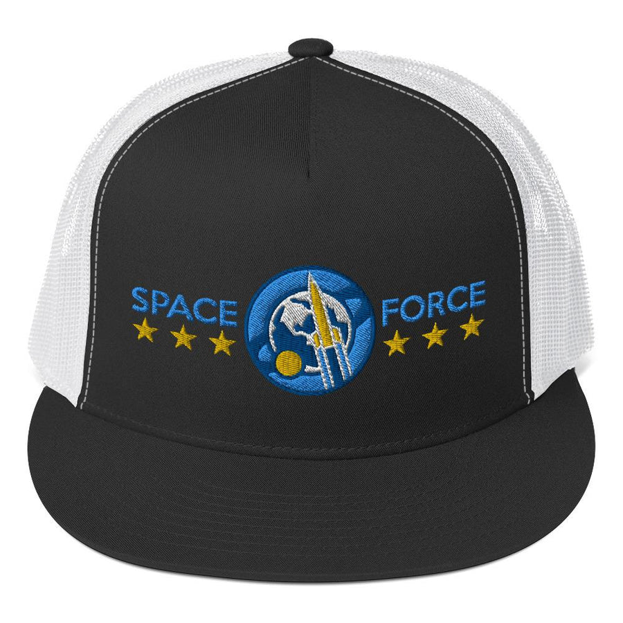 SPACE FORCE - high trucker hat