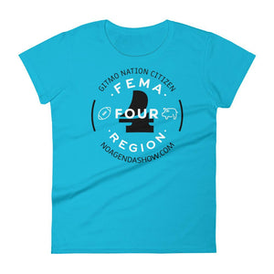 FEMA REGION FOUR - womens tee