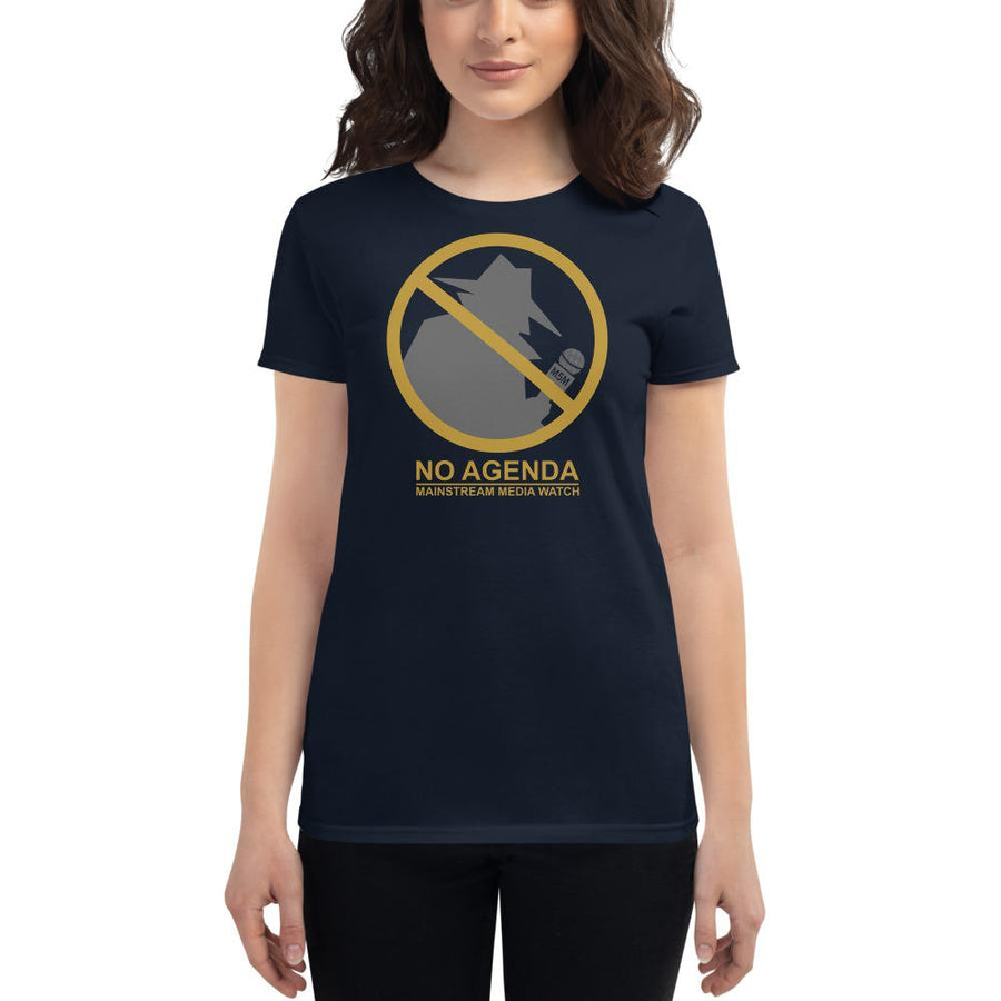 MAINSTREAM MEDIA WATCH - womens tee