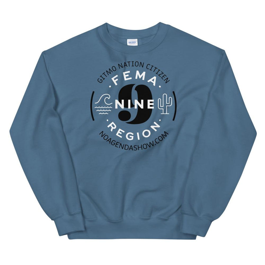 FEMA REGION NINE - sweatshirt