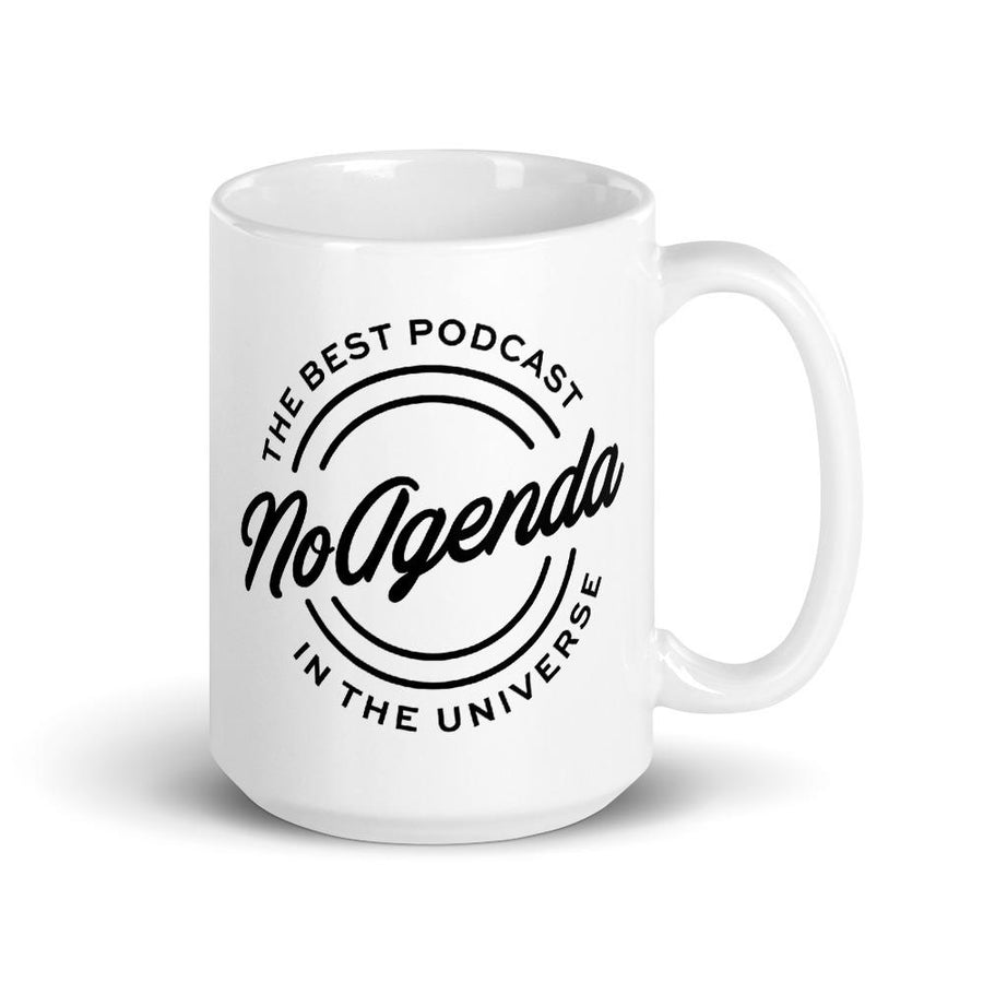 NO AGENDA THE BEST PODCAST - mug