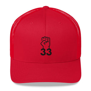 NO AGENDA 33 - mid trucker hat