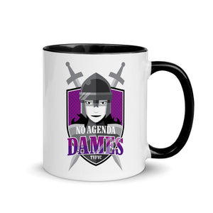 NO AGENDA DAMES - accent mug