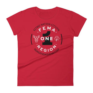 FEMA REGION ONE - womens tee