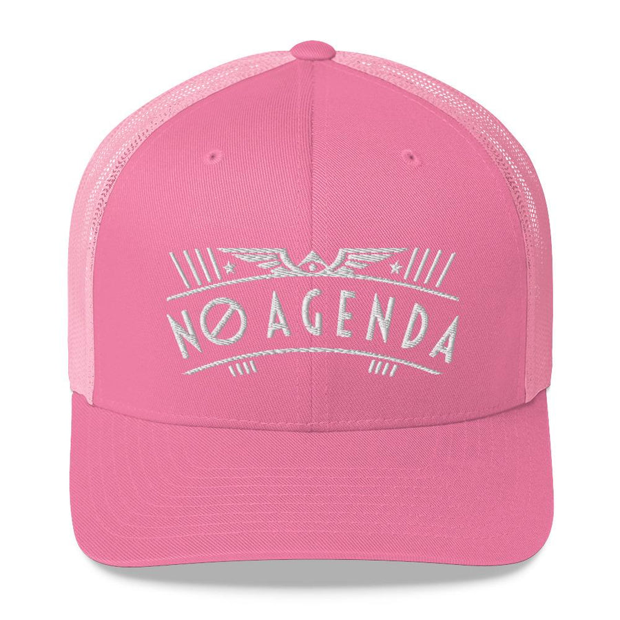 NO AGENDA RALLY - mid trucker hat