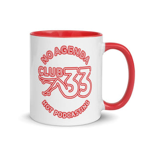 NO AGENDA CLUB 33 - accent mug