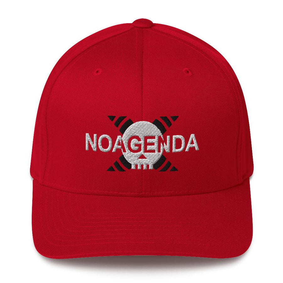 HEAR NO AGENDA - medium profile fitted hat