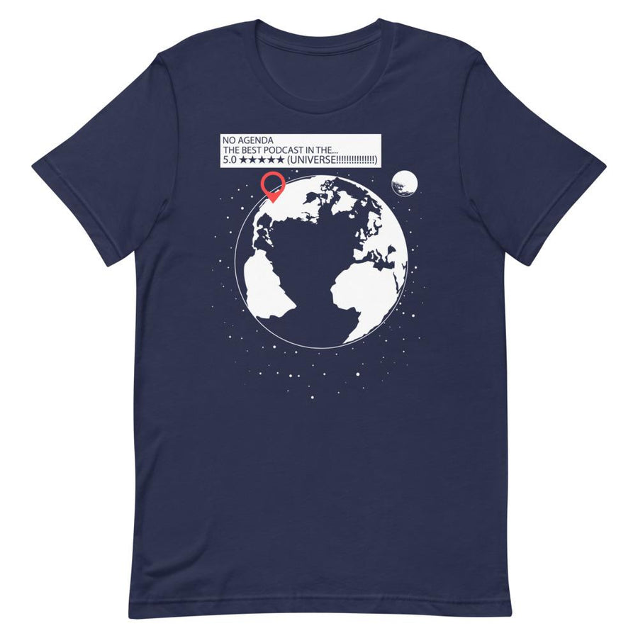 BEST PODCAST IN THE UNIVERSE - tee shirt