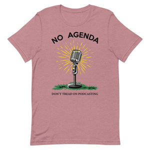 DONT TREAD ON PODCASTING - tee shirt