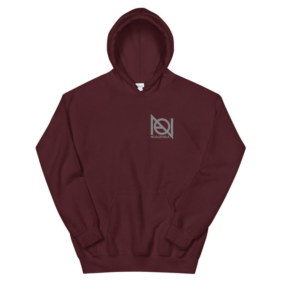 NO AGENDA RALLY - back - pullover hoodie
