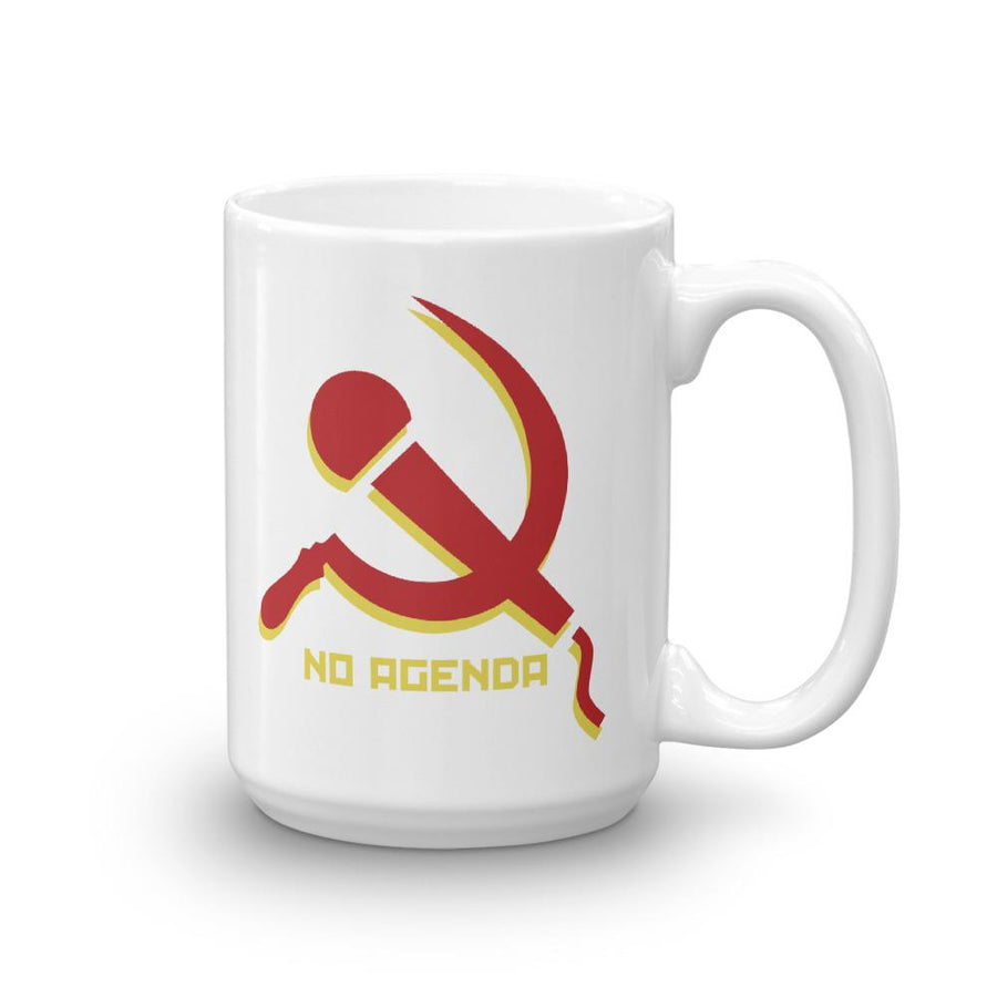NO AGENDA MIC & SICKLE - mug