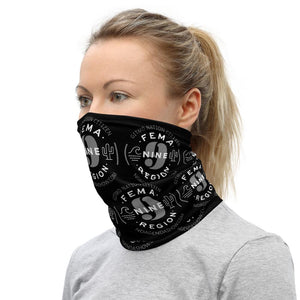 FEMA REGION NINE - neck gaiter