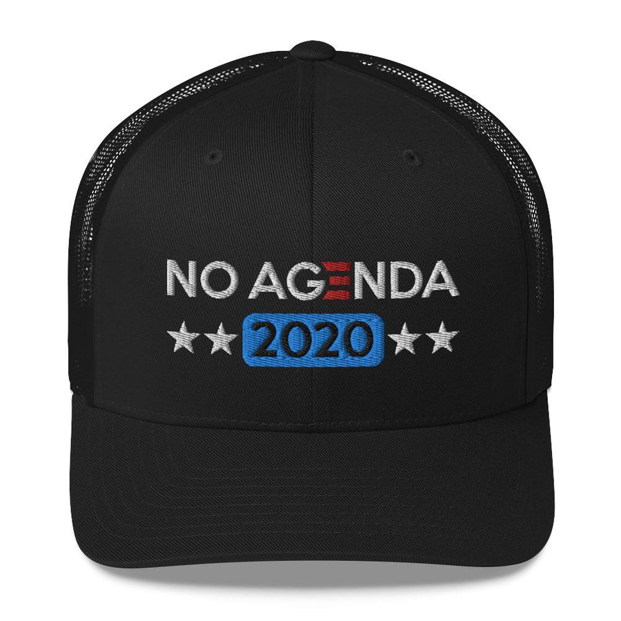 NO AGENDA 2020 - mid trucker hat