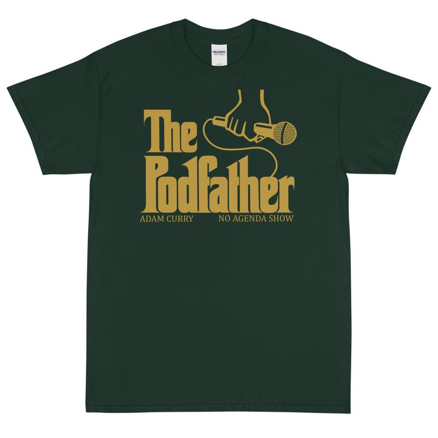 THE PODFATHER ADAM CURRY - rugged tee