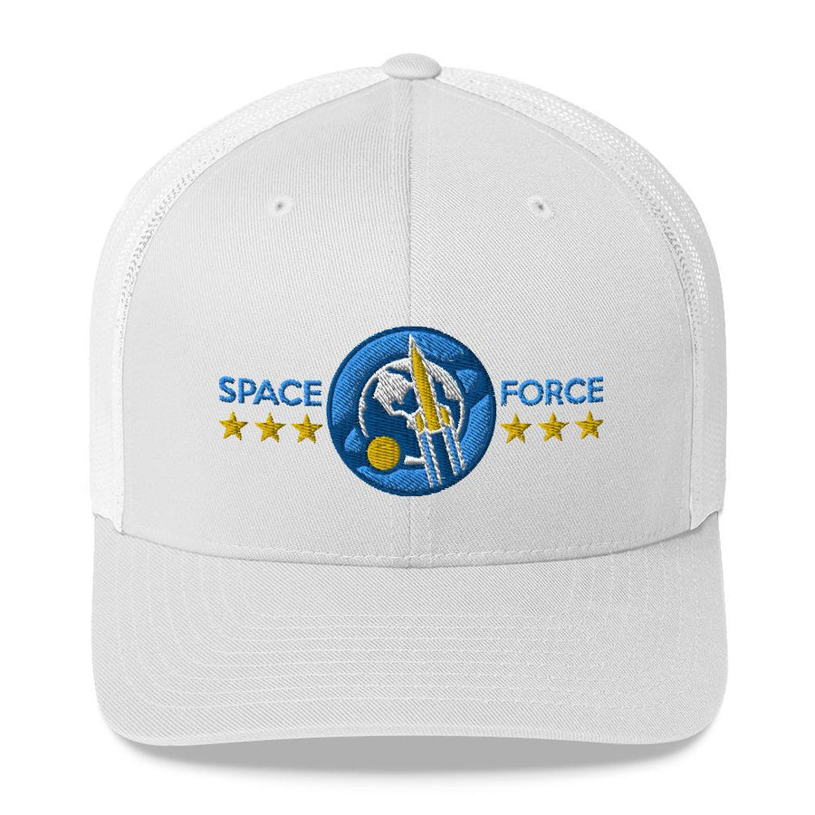 SPACE FORCE - mid trucker hat