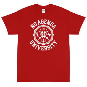 NO AGENDA UNIVERSITY - rugged tee