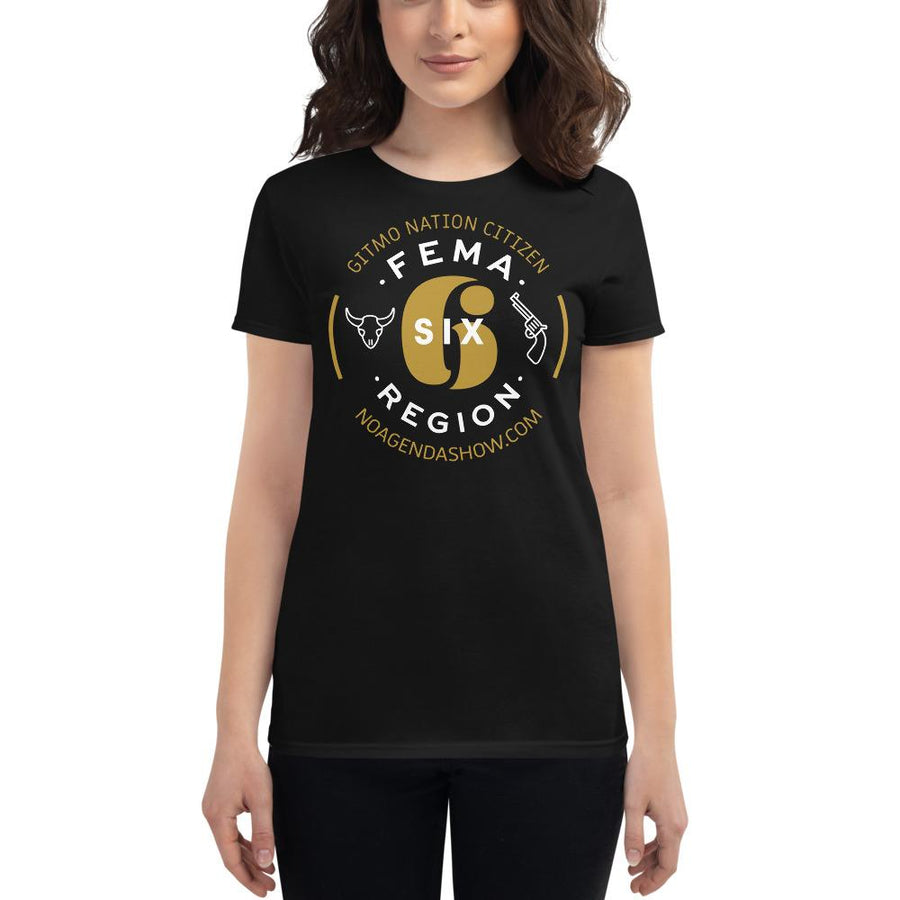 FEMA REGION SIX - womens tee