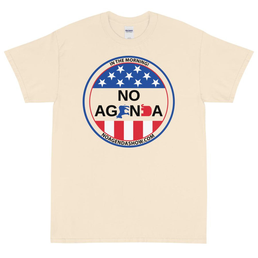 NO AGENDA CAMPAIGN - rugged tee