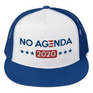 NO AGENDA 2020 - high trucker hat