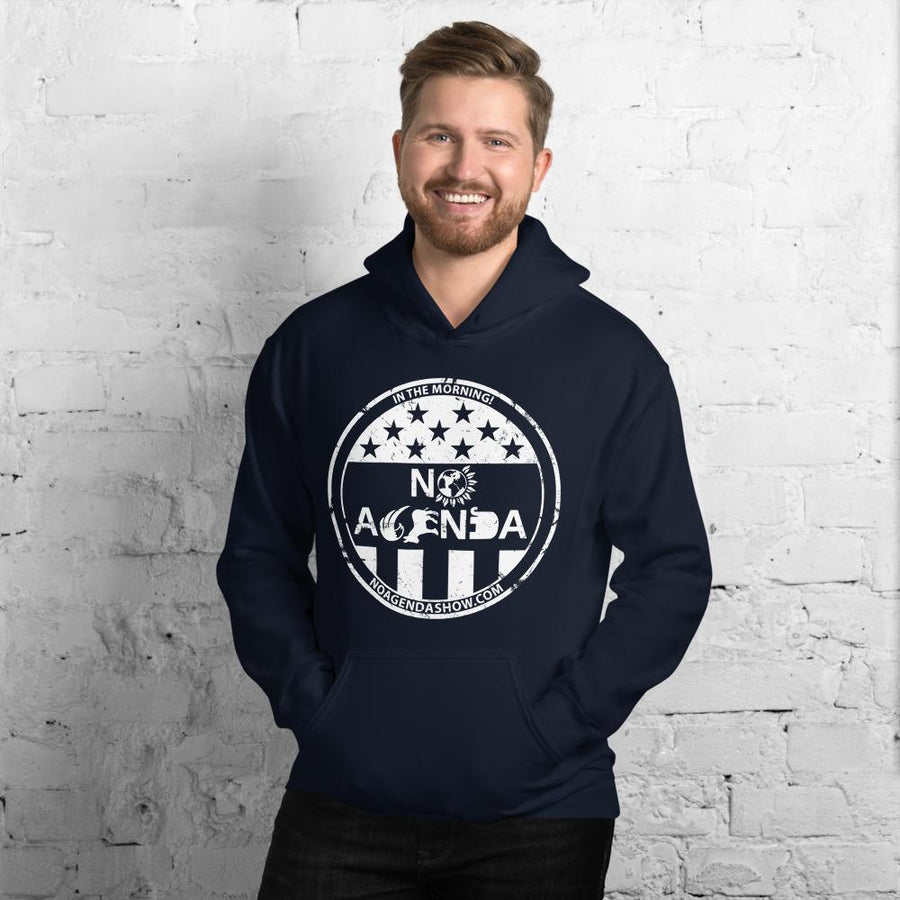 NO AGENDA PARTY TIME - pullover hoodie
