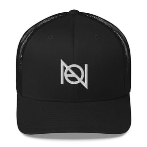 N.A. SHOP LOGO - mid trucker hat