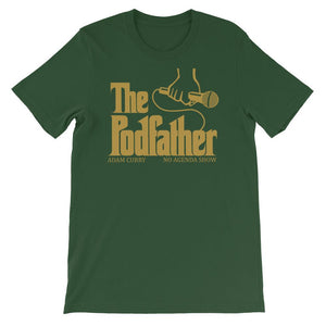 THE PODFATHER ADAM CURRY - tee shirt