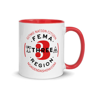 FEMA REGION THREE - accent mug