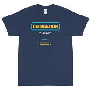 8-BIT NO AGENDA - rugged tee
