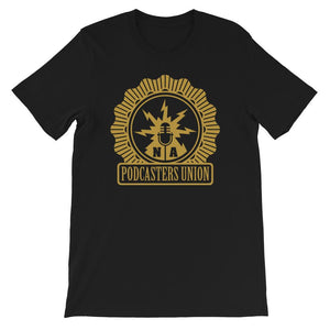 PODCASTERS UNION - tee shirt